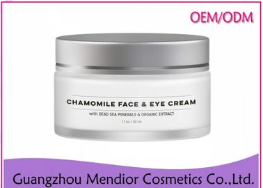 Chamomile Natural Face Cream Anti Puffiness For Sensitive / Irritated Skin