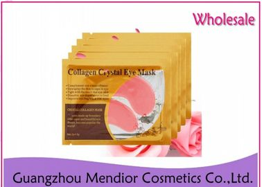 Crystal Collagen Eye Treatment Mask , Red Wine Gel Under Eye Patches For Wrinkles