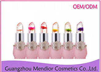Permanent Cute Natural Makeup Lipstick Flower Color Change Hard To Fad