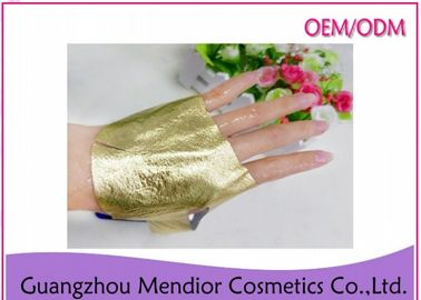 Anti Wrinkle 24K Gold Foil Mask , Moisturizing Face Mask For Acne Scars And Oily Skin