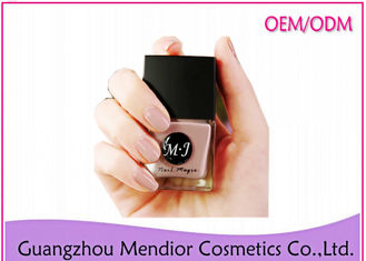 Nude Translucent Lacquer Soak Off Gel Nail Polish Dry Fast Optional Fragrance