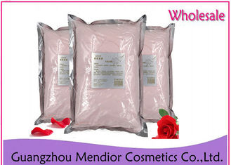 Rose Powder Face Mask Smooth Whitening Moisturizing Deep Cleaning ODM / OEM
