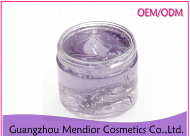 Lavender Sleeping Gel Face Mask For Dry Sensitive Skin Purple Color Hydrating