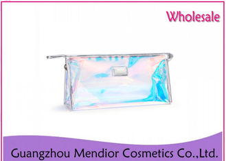 Bright Star Makeup Accessories Bag Lucency Zipper Waterproof For Storage