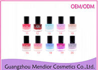 Double Color Cream Gel Nail Polish , Temperature Change Colour Gel Nail Polish