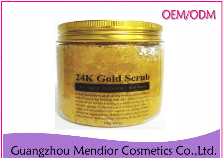 24 K Gold Facial Natural Body Scrub Anti Aging Moisturizing 200G Weight