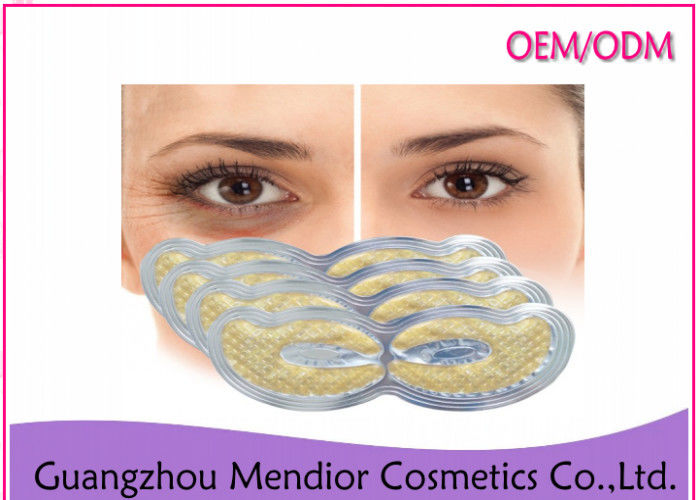 Firming Anti Wrinkle Eye Patches , Nano Active Gold Under Eye Collagen Mask