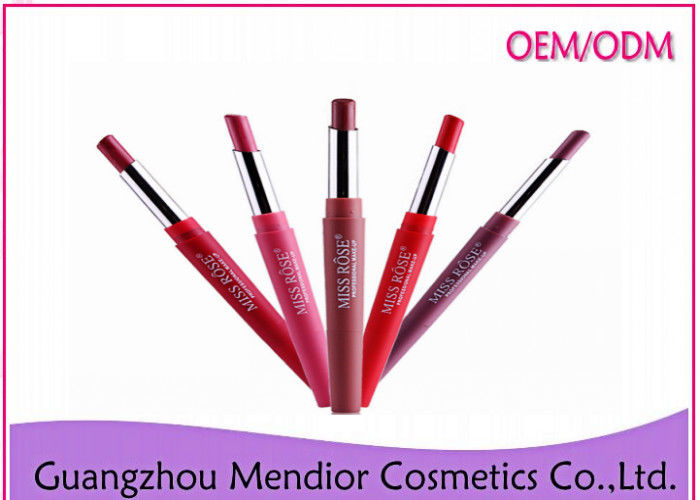 Double Lip Liner Natural Makeup Lipstick Multi Functional Pen Easy To Use