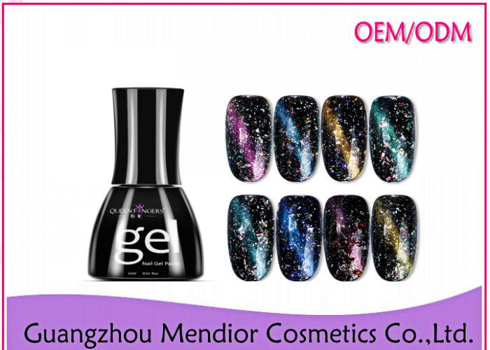 Glitter Starry Sky UV Natural Gel Nail Polish Bling Cat Eye Gel Nail Polish