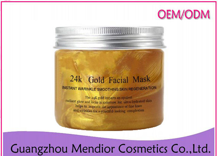 24K Nano Gold Natural Face Masks Anti Toxin Firming Anti Wrinkle Whitening