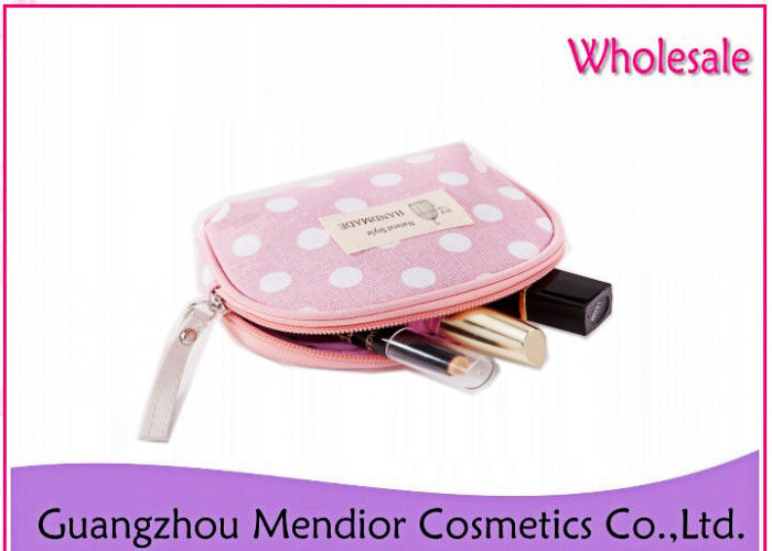 Crown Makeup Accessories Bag Transparent Dot Folding Gargle Nylon Material