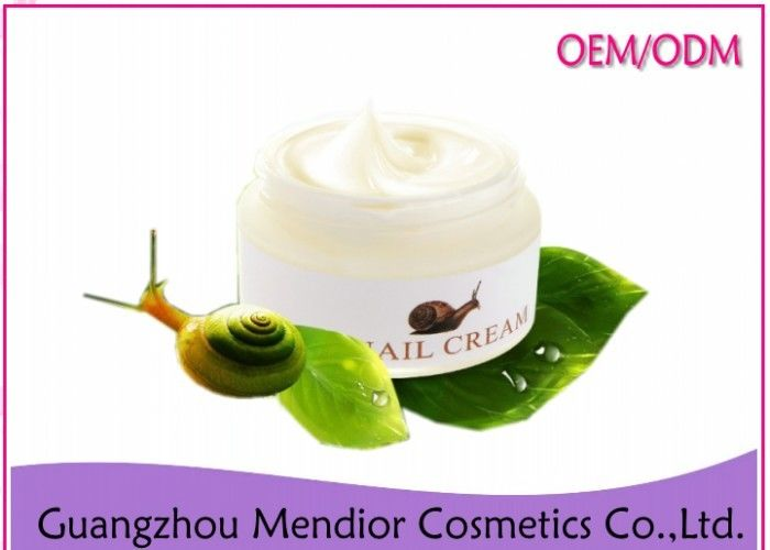 Snail Extract Whitening Anti Aging Face Cream Anti Wrinkle With Vanda Coerulea