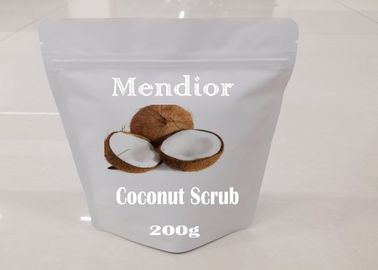 China Coconut Natural Body Scrub Grape Seed Oil Ingredient  Special Skin Treatment factory