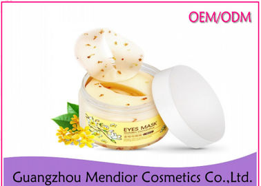 China Osmanthus Fragrans Eye Sheet Mask , Cotton Under Eye Patches For Dark Circles factory