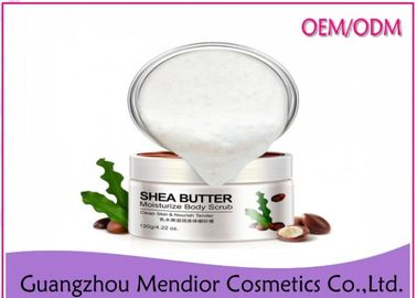 China Nourishing Coconut Oil Body Scrub , Exfoliating Vitamin E Shower Sugar Scrub factory