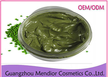 China Green Mung Bean Mud Natural Face Masks For Combination Skin Oil Control factory