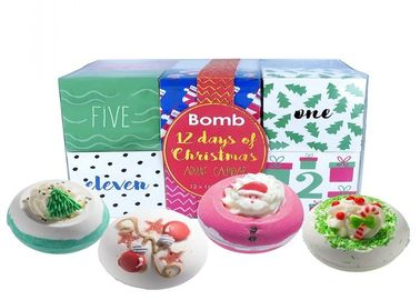 China Bomb Cosmetics Twelve Days Christmas Bath Blaster / Bath Bomb Advent Calendar Gift Pack factory