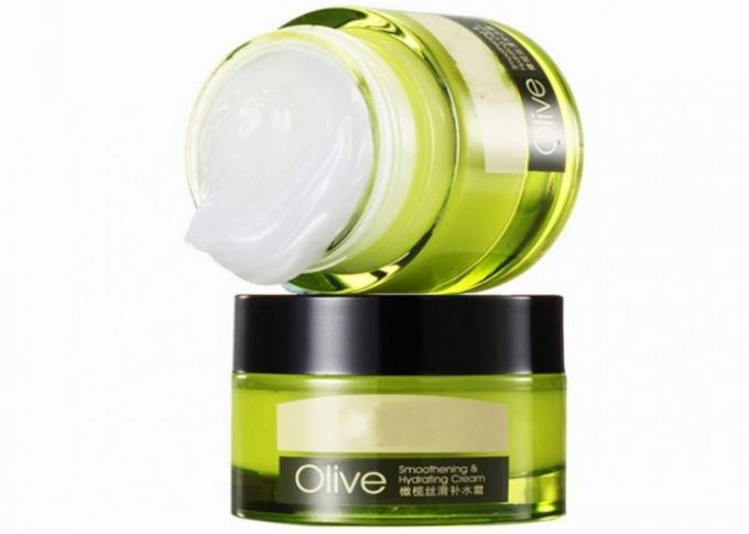 Olive Extract Natural Face Cream Hydrating Moisturizing Glycerin 50g Weight