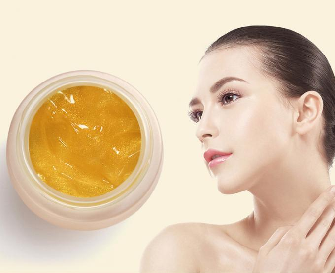 24K Colloidal Gold Natural Face Cream Lifting / Firming For Anti Puffiness