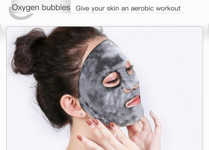 Purifying Bubble Blackhead Removal Mask Anti Pimples Black Color Fresh Scent