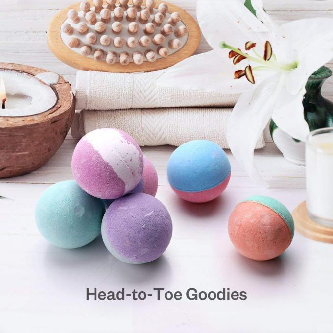 Cool Bubble Bath Bombs With Natural Plant Extracts / Bomb Bath Fizzers